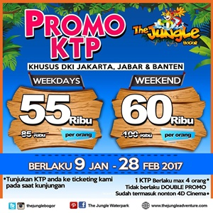 promo ktp the jungle