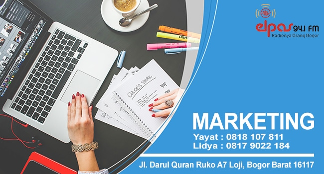 Marketing Elpas Fm Bogor